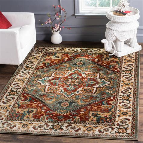 building 19 rugs safavieh summit gray ivory 6 ft 7 in x 9 ft 2 in area rug smt293b 7 the home depot