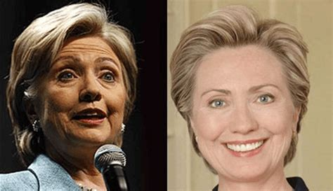 has hillary clinton had cosmetic work done hillary clinton plastic surgery before and after photos
