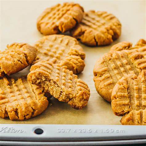 Peanut Butter Cokkies Ketofy keto peanut butter cookies low carb savory tooth