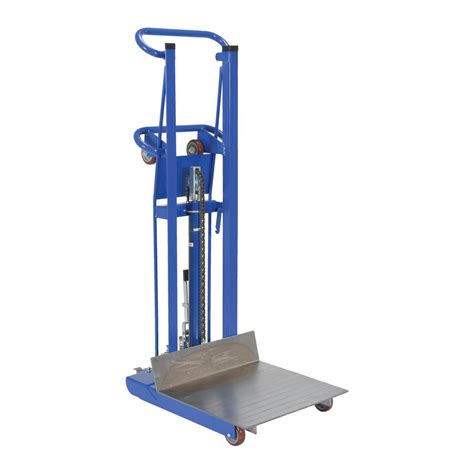 pentagon tool 53 in x 7 in x 25 in drywall cart 6115