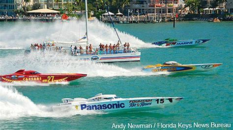 key west boat races key west power boat races 2016 with fury water adventures