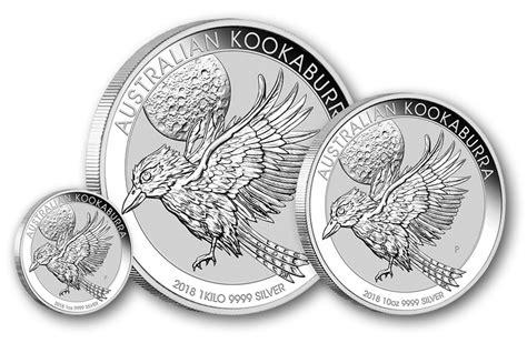 1 Kilo Australian Silver Kookaburra Coin - 2018 australian kookaburra silver bullion coins available
