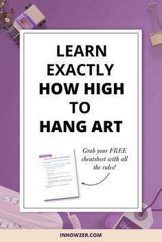 how high to hang pictures 1000 ideas about hang pictures on pinterest how to hang