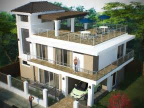 House Plans With Roof Deck Terrace storey w roof deck bantay ilocos sur updated arki lynx