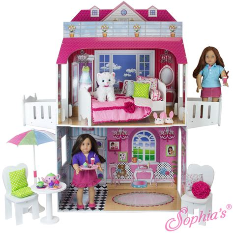 dolls play house the southern market two story 18 inch doll playhouse