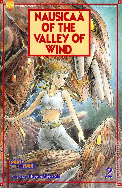 nausicaa of the valley of the wind nausicaa of the valley of wind part 4 1994 comic books