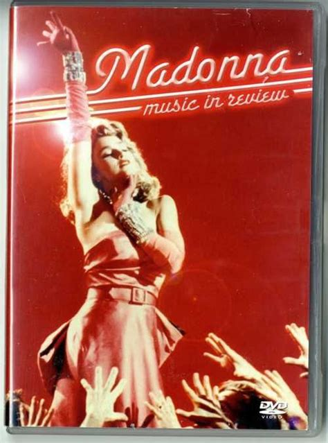 Madonna Or Documentary Madonna In Review Uk Documentary Dvd