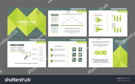 advertising powerpoint templates business marketing presentation templates set six stock