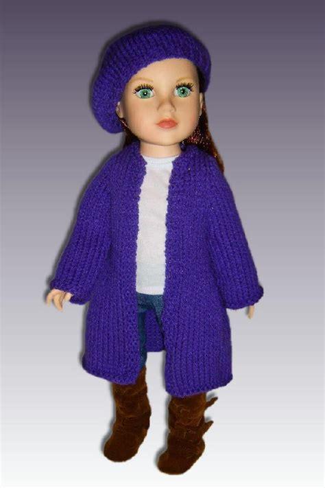 doll cardigan knitting pattern doll clothes cardigan knitting pattern for 18 inch
