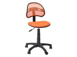 chaise dactylo azalie coloris orange vente de fauteuil