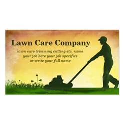 Gardening Business Cards Templates by Lawn Care Grass Cutting Business Card Standard Business