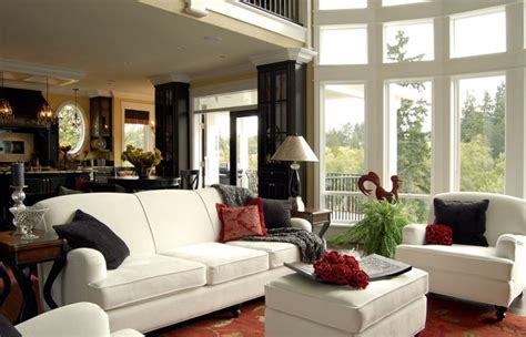 country house living room design picture 3d house