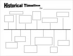 Historical Timeline Template by 9 Timeline Templates For Sles Exles Format