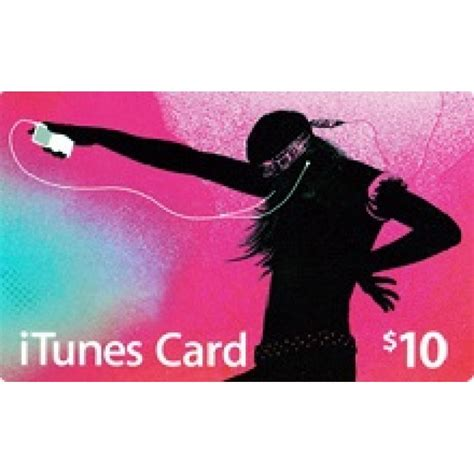 Itune Gift Cards Online - itunes us us 10 gift card