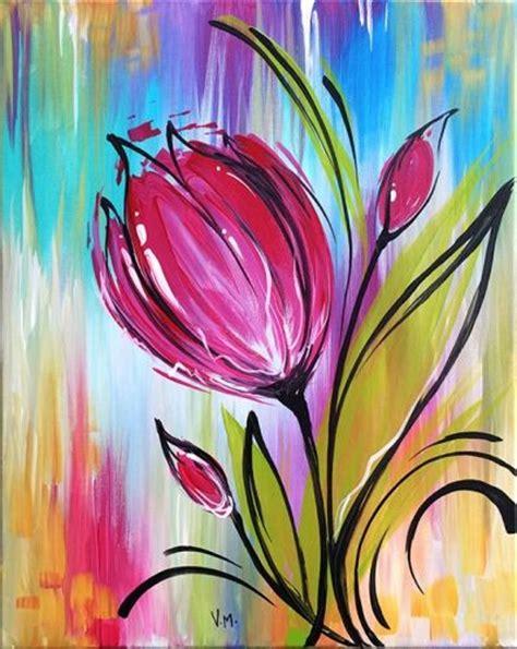 paint nite bakersfield the 25 best tulip painting ideas on