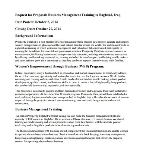 proposal format for conducting seminar training proposal templates 32 free sle exle