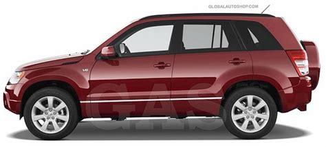 Suzuki Grand Vitara Chrome Accessories Suzuki Grand Vitara Chrome Side Door Molding Trim