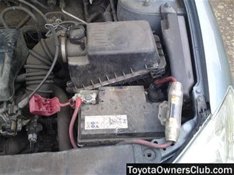 Toyota Corolla Battery Corolla Battery Size Corolla Club Toyota Owners Club