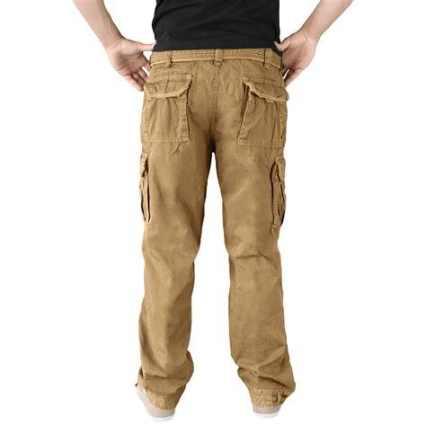 Cargo Original Quality Premium surplus premium vintage trousers army cargo mens