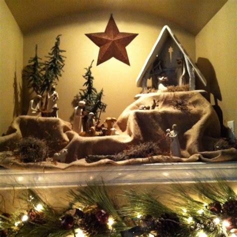 willow tree nativity ideas  pinterest