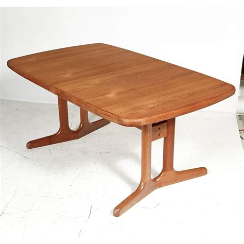 teak dining room table danish teak dining room table 1970s for sale at 1stdibs