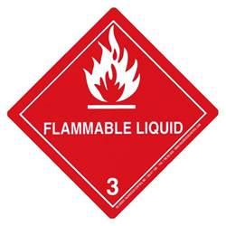 hazardous dot hazmat placards hazard class 3