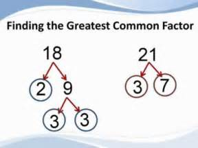 Factors Of 481 How To Find The Greatest Common Factor From Tutapoint