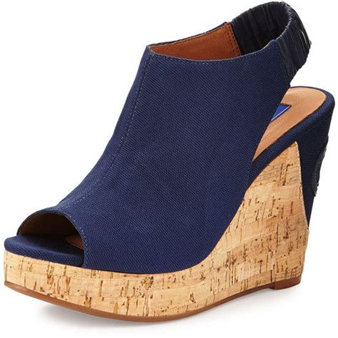 25 best ideas about navy wedges on