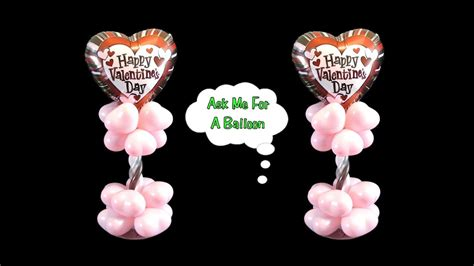 valentines day balloon centerpiece balloon decoration