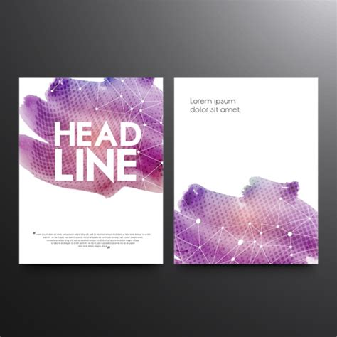 Purple Flyer Templates