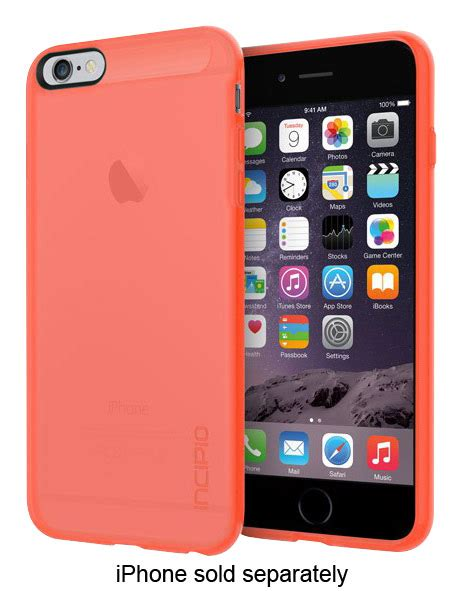 best buy incipio ngp for apple 174 iphone 174 6 plus and 6s plus translucent neon iph 1197