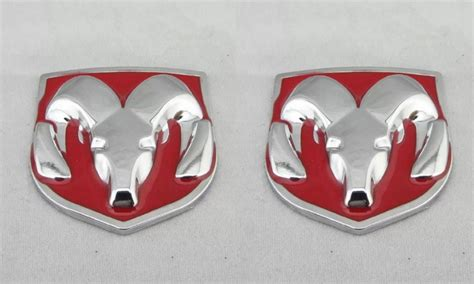 Emblem 200kg ram metal emblem badge stickers decals grill tailgate