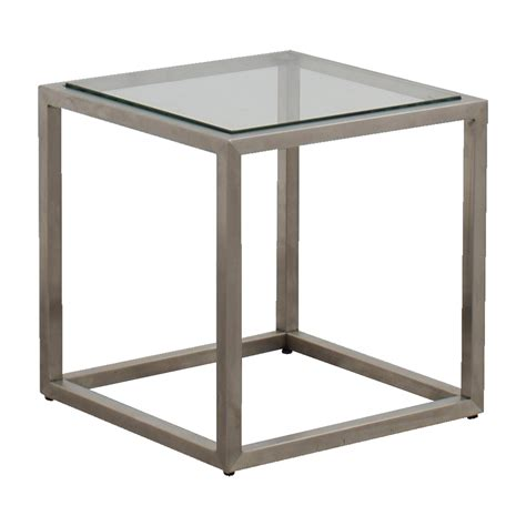 ethan allen glass coffee table 87 ethan allen ethan allen metal and glass cube