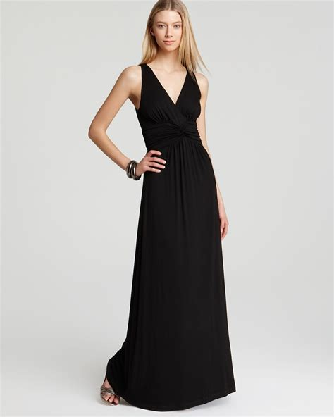 Bloomingdale Dress maxi dress bloomingdale s casual black