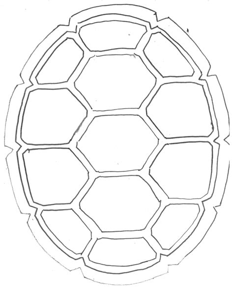 ninja turtle shell template