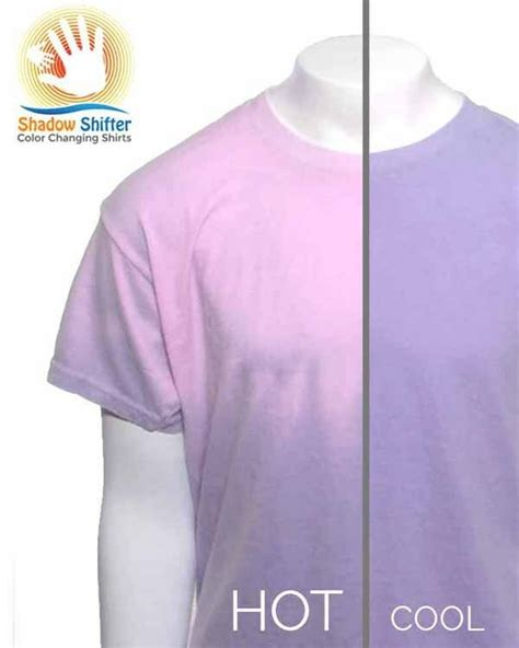 color changing shirt color changing t shirt shadow shifter purple to pink blows