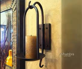 Torch Sconces Wrought Iron Furniture Tuscan Iron Wall Decor