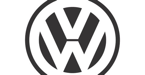 volkswagen logo no background volkswagen black white mode logo vector format cdr ai