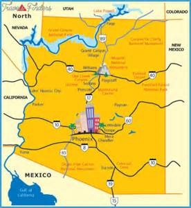 map of arizona tourist attractions scottsdale map tourist attractions travel map