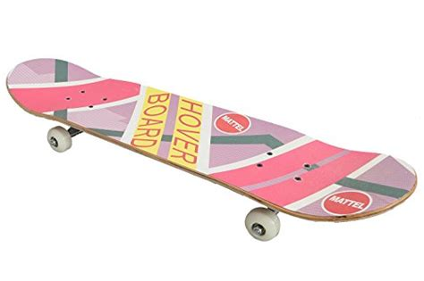 Hoverboard Skateboard Deck by Xcoser Marty Mcfly Hoverboard Rainbow Skateboard Props For
