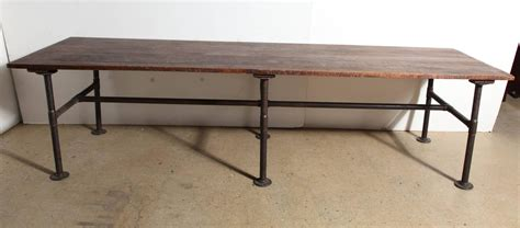 10 foot dining room table 19th century 10 foot long solid black walnut industrial