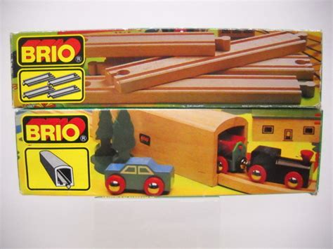 brio train track sets brio vintage wooden railroad train sets tunnel 33362 track