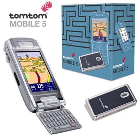 tom tom mobile tomtom mobile 5 gps sony ericsson p910i