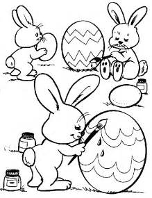 easter bunny coloring page free coloring pages easter bunny coloring pages