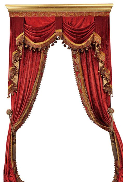 Luxury velvet curtains set traditional curtains by