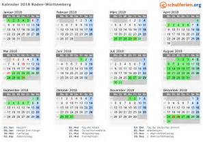 Kalender 2018 Feiertage Im Mai Kalender 2018 Ferien Baden W 252 Rttemberg Feiertage