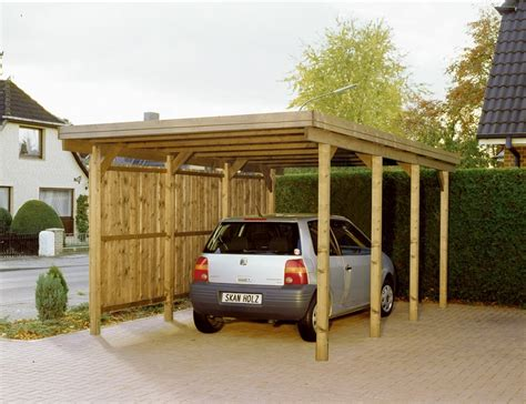 carport flachdach carport flachdach nadelholz l1 sams gartenhaus shop