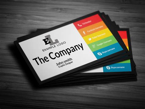 at t business card template colorful personal business card business card templates