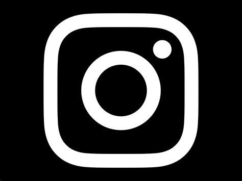 black instagram instagram logo black and white www pixshark com images