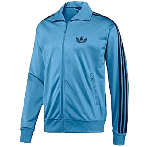 Jaket Adidas Finger Navy Blue Sky adidas adicolor firebird zipper track top jacket sky blue